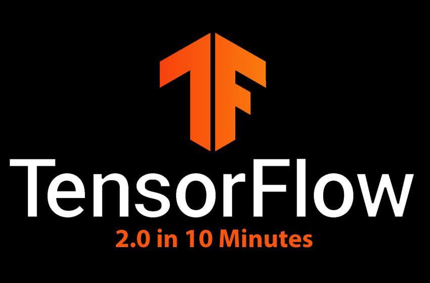 TensorFlow 2.0 Tutorial in 10 Minutes