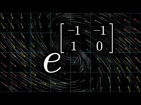 How (and why) to raise e to the power of a matrix | DE6
